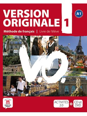 Version originale 1 -  Livre de l'eleve + DVD (A1)