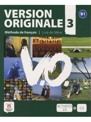 Version Originale 3 – Livre de l'élève + CD (B1)