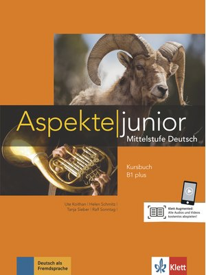 Aspekte junior B1 plus, Kursbuch mit Audio-Dateien zum Download
