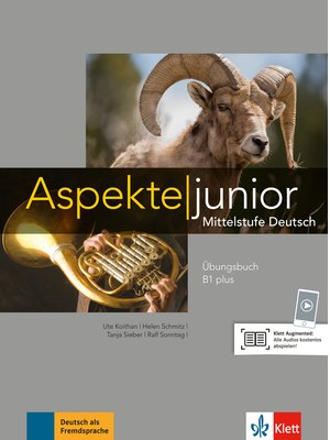 Aspekte junior B1 plus, Übungsbuch mit Audio-Dateien zum Download