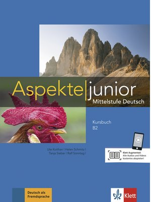 Aspekte junior B2, Kursbuch mit Audios zum Download