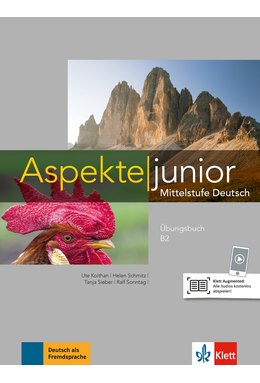 Aspekte junior B2, Übungsbuch mit Audio-Dateien zum Download