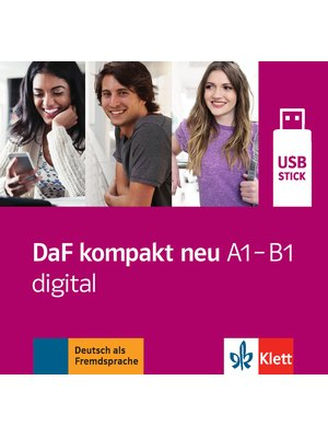 DaF kompakt neu A1 - B1 digital, USB-Stick