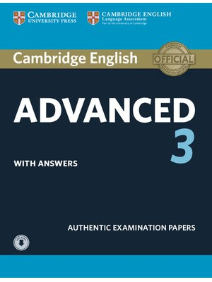 Cambridge English Advanced 3 Student's Book with Answers with Audio Downloadable