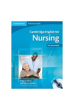 Cambridge English For Nursing Pre-intermediate Students Book