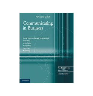 Communicating in Business, Teacher's Book