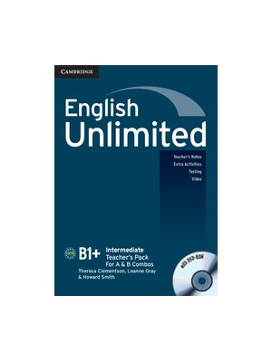English Unlimited Intermediate, Teacher's Pack (Teacher's Book with DVD-ROM)