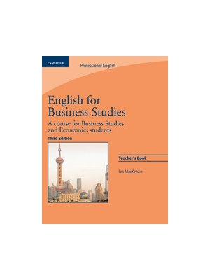 English for Business Studies, Teacher's Book