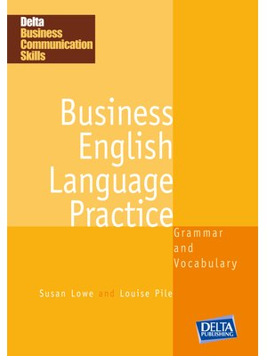 Business English Language Practice B1-B2, Coursebook