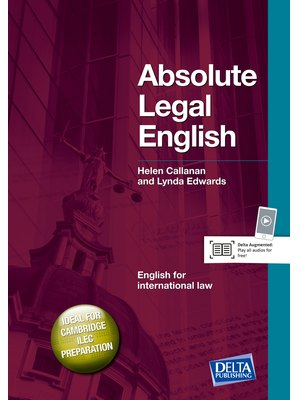Absolute Legal English B2-C1, Coursebook with Audio CD