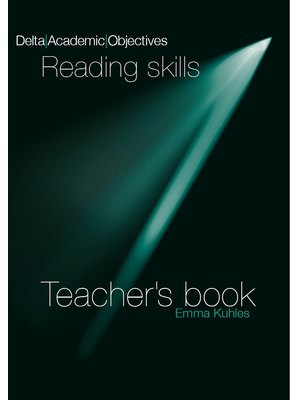 Delta Academic Objectives - Reading Skills B2-C1, Teacher's Book