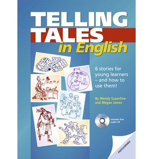Telling Tales in English, Book with photocopiable activites and audio-CD