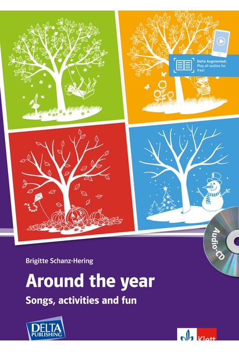 Around the Year, Book with copy templates + audio CD