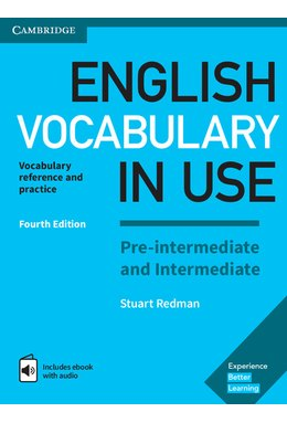 English Vocabulary in Use Pre-intermediate and Intermediate Book with Answers and Enhanced eBook