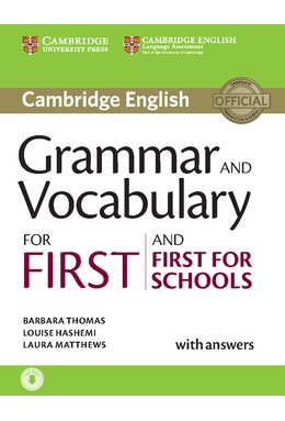 Grammar and Vocabulary for First and First for Schools Book with Answers and Audio