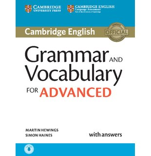 Grammar and Vocabulary for Advanced, Book with Answers and Audio