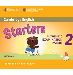 Starters 2, Audio CD for Revised Exam from 2018
