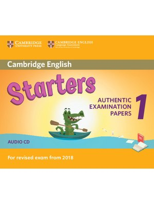 Cambridge English Starters 1 for Revised Exam from 2018 Audio CD