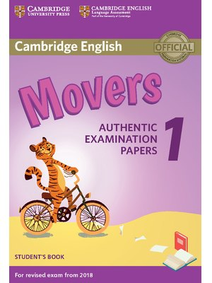 Movers 1, Student's Book for Revised Exam from 2018
