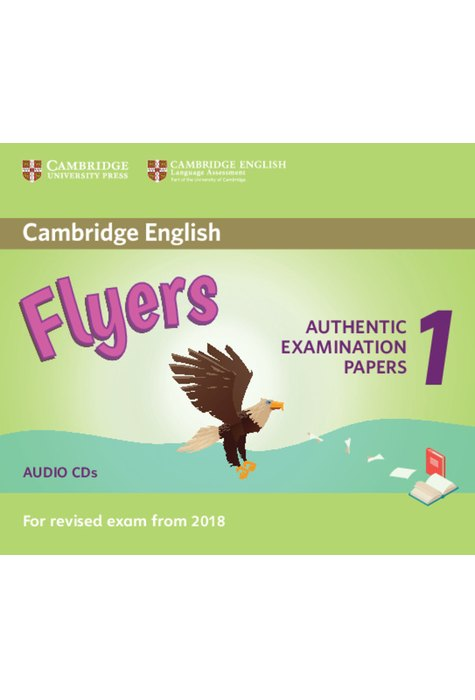 Flyers 1, Audio CDs (2) for Revised Exam from 2018