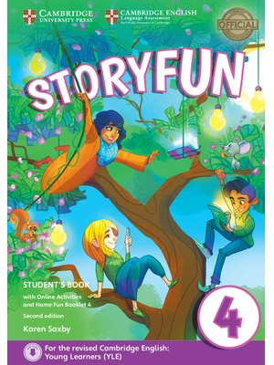 Storyfun Level 4, Student's Book with Online Activities and Home Fun Booklet 4
