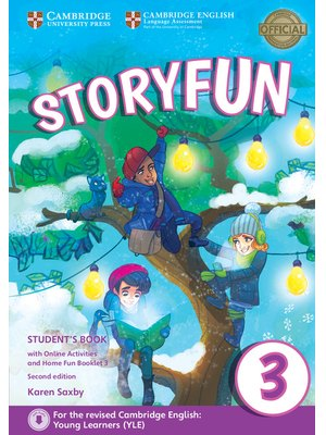 Storyfun Level 3, Student's Book with Online Activities and Home Fun Booklet 3