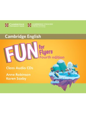 Fun for Flyers, Class Audio CDs (2)