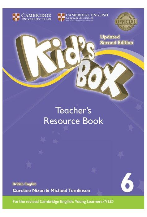 Kid's Box Level 6 Teacher's Resource Book with Online