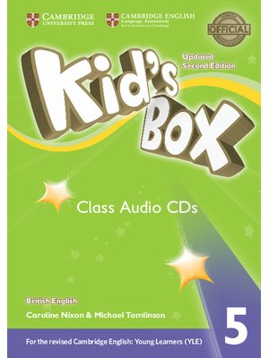 Kid's Box Level 5 Class Audio CDs (3) British English