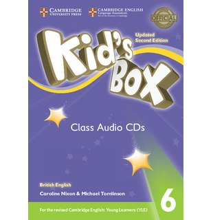 Kid's Box Level 6 Class Audio CDs (4) British English
