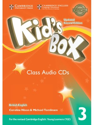 Kid's Box Level 3 Class Audio CDs (3) British English