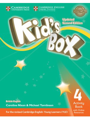 Kid's Box Level 4, Activity Book with Online Resources British English