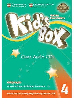 Kid's Box Level 4 Class Audio CDs (3) British English