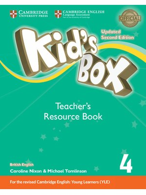 Kid's Box Level 4 Teacher's Resource Book with Online Audio British English