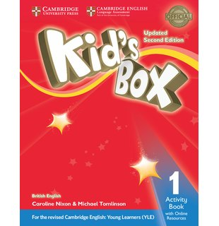 Kid's Box Level 1, Activity Book with Online Resources British English