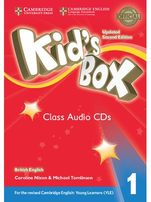 Kid's Box Level 1, Class Audio CDs (4)