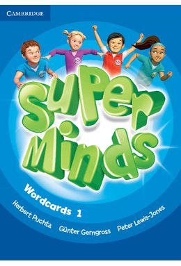 Super Minds Level 1 Wordcards (Pack of 81)