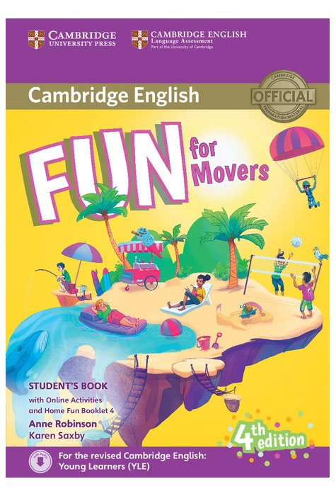 Fun for Movers, Student's Book with Online Activities with Audio and Home Fun Booklet 4
