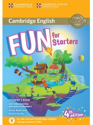 Fun for Starters, Student's Book with Online Activities with Audio and Home Fun Booklet 2