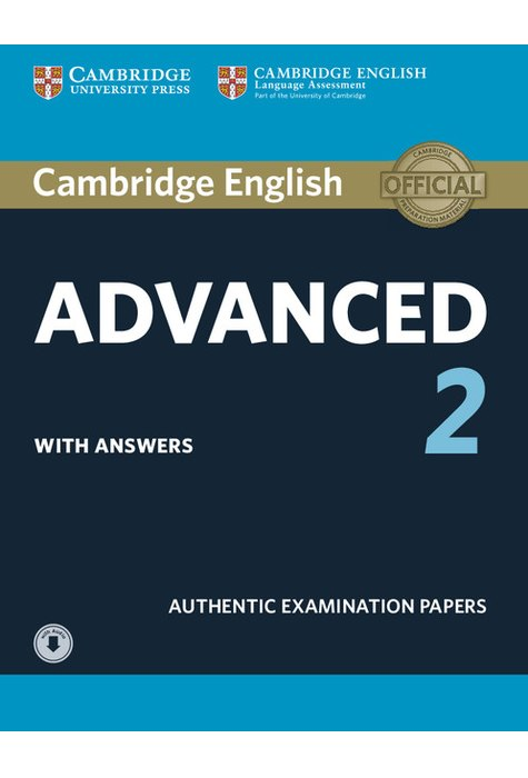 Cambridge English Advanced 2 Student's Book with answers and Audio Downloadable