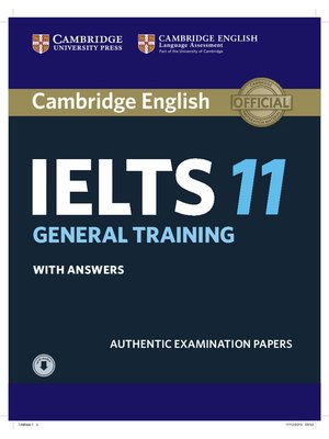 Cambridge IELTS 11 General Training, Student's Book with answers with Audio