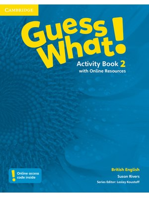 Guess What! Level 2, Activity Book with Online Resources British English