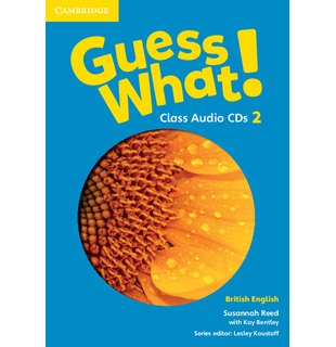 Guess What! Level 2 Class Audio CDs (3) British English