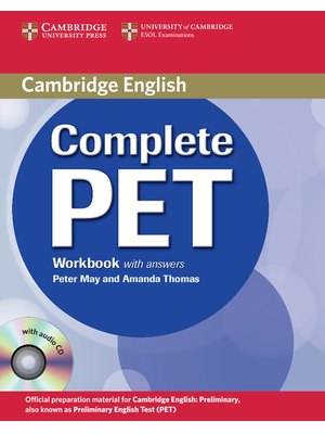 Complete PET Workbook with answers with Audio CD