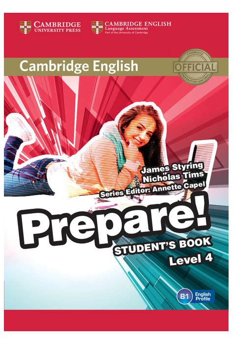 Cambridge English Prepare! Level 4 Student's Book