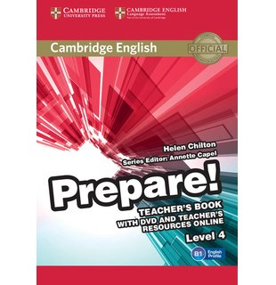 Cambridge English Prepare! Level 4 Teacher's Book with DVD and Teacher's Resources Online
