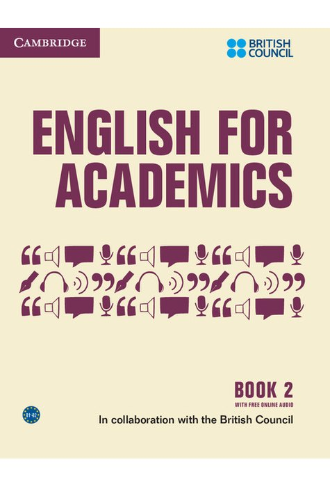 English for Academics 2, Book with Online Audio
