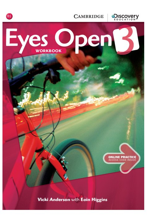 Eyes Open Level 3 Workbook with Online Practice