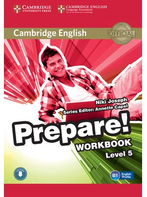 Cambridge English Prepare! Level 5 Workbook with Audio