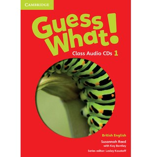 Guess What! Level 1 Class Audio CDs (3) British English
